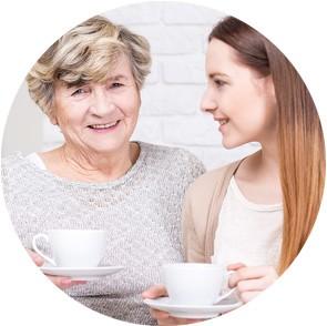 zajmowanie się starszą osobą