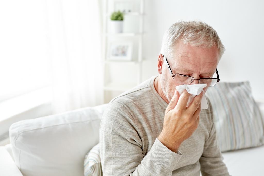 alergia u seniora